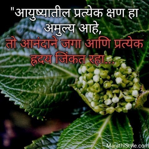 Motivational Quotes In Marathi For Success,