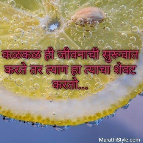 Life status in marathi