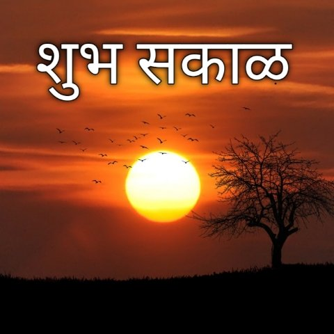 शुभ सकाळ सुप्रभात ~ 500+ Good morning messages in Marathi Images